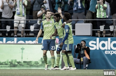 Seattle Sounders rout FC Dallas Wednesday night in Seattle