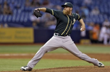 Sean Doolittle has been handed the closer role forBob Melvin's A's and has responded nicely in Tampa (Chris O'Meara, AP)