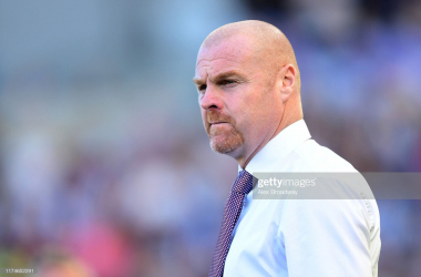 Sean Dyche was full of praise for his side after their win over Norwich (Photo: Getty Images: Alex Broadway)