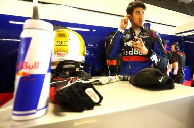 Sean Gelael Enjoy Pada Tes Ban F1