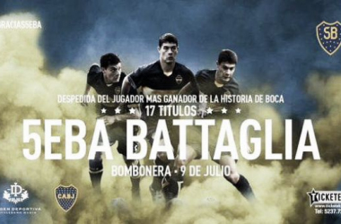 Battaglia tendrá su homenaje en la Bombonera. Foto: Olé