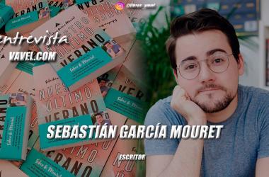 """Entrevista. Sebastián García Mouret: """"Sé que soy un afortunado por poder publicar en este contexto"""""""