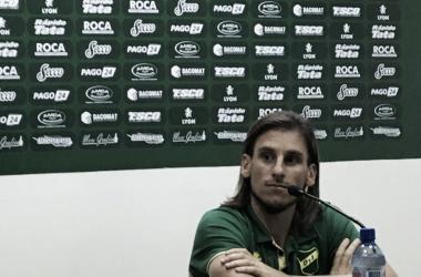 Sebastián Beccacece. Foto: Club Defensa y Justicia.