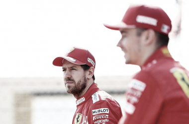 Leclerc ficaria 'feliz' caso Vettel continue na Ferrari