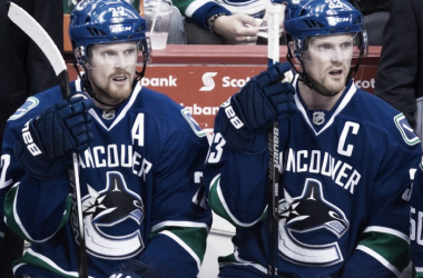 The Sedin twins have been a solid part of the Vancouver Canucks. Are they staying or leaving? (Photo: nationalpost.com)