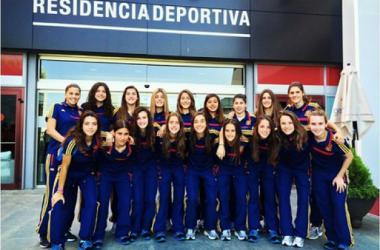La Selección Sub-17 ya está preparada para el reto. | Foto: facebook Aitana Bonmatí.