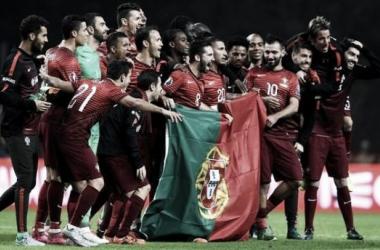 Portugal está no Euro 2016: Princípe do Mónaco Moutinho abre o Champanhe francês