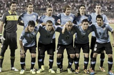 Selección uruguaya.