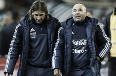 Sampaoli debutó como entrenador de la Albiceleste con una victoria | Foto: La Nación
