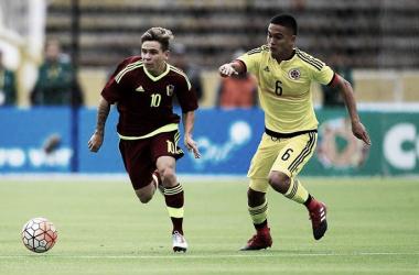Soteldo anotó uno de los mejores goles del torneo / Foto: EFE