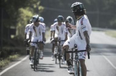 La selección colombiana en Ponferrada (foto: Federación Colombiana de Ciclismo)