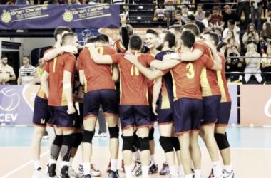 España en fase clasificatoria para el Campeonato de Europa 2017. Foto: rfevb.es