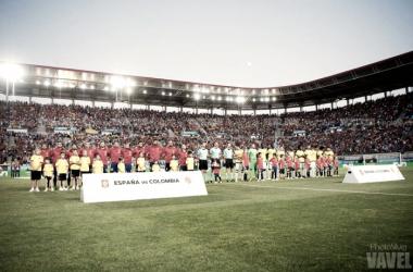 España - Colombia: puntuaciones España, amistoso internacional