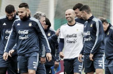 La Selección volvió a los trabajos | Foto: Fútbol Para Todos