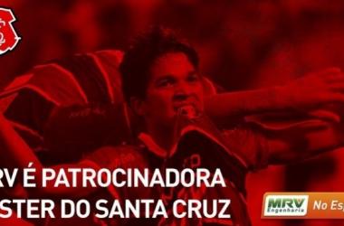 MRV Engenharia fecha patrocínio master com o Santa Cruz (Foto: Divulgação/MRV)