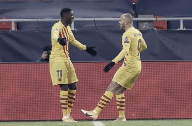 Barcelona tem boa atuação, domina Ferencváros e segue invicto na Champions League