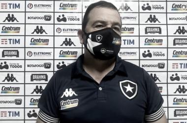 Foto: Transmissão/Botafogo TV