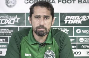 Foto: Transmissão/Coritiba Oficial