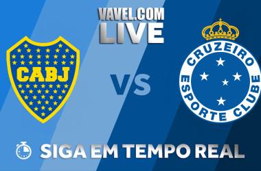 Resultado Boca Juniors 2 x 0 Cruzeiro pela Copa Libertadores