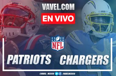Resumen y Touchdowns: New England Patriots 45 - 0 Los Ángels Chargers en NFL Semana 13