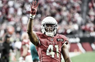 De la mano de Kenyan Drake, los Cardinals vuelan alto ante Cleveland