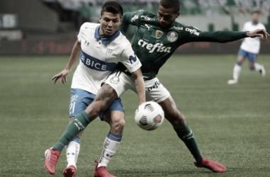 Palmeiras 1 a 0 Universidad Católica (CONMEBOL / Divulgação)