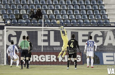 Serantes salvó al Leganés con sus paradas (Foto: Apo Caballero   VAVEL.com)