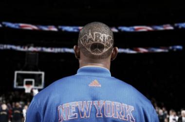 Seraphin homenajea a París con su peinado (Fuente: New York Knicks)
