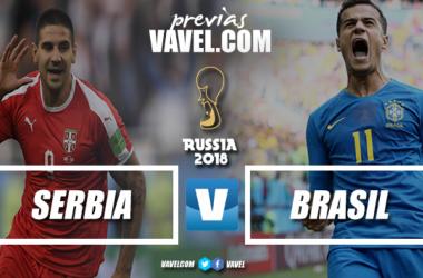 Russia 2018 - Sfida al vertice per Serbia e Brasile