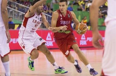 Bogdan Bogdanovic drives to the basket. (Photo via FIBA.com)