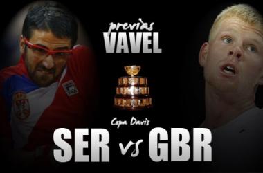 Copa Davis 2016. Serbia vs Gran Bretaña: choques sin estrellas (Fotomontaje: Carlitos Molins / VAVEL)