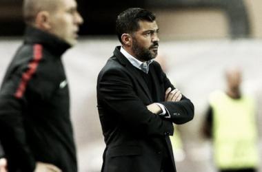 Sergio Conceição se mostró satisfecho por el desempeño de su equipo / www.fcporto,pt