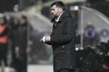 """El estratega de los blanquiazules acusó a su rival de """"antifútbol"""" / www.fcporto.pt"""