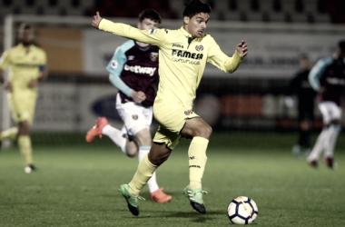 Sergio Lozano, jugador del Villarreal Sub-23 / Foto: Web Oficial Villarreal CF