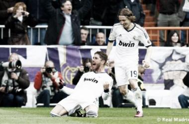 Ramos y Modric no se entrenaron al ritmo del resto de sus compañeros