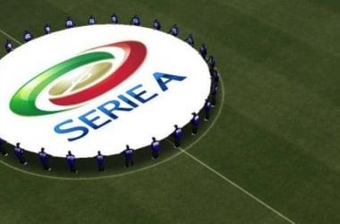 Le logo de la Série A et donc de ce fabuleux championnat italien.