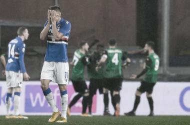 Com dois gols em três minutos, Sassuolo bate Sampdoria fora de casa e se recupera na Serie A