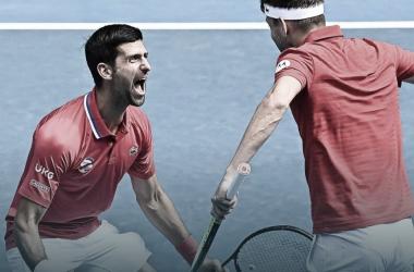 De virada, Sérvia vence Canadá na estreia da ATP Cup