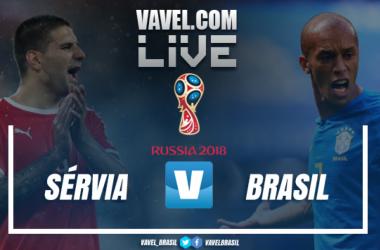 Resultado Sérvia x Brasil na Copa do Mundo 2018 (0-2)