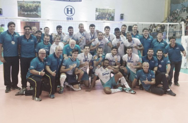 Primeiro título Estadual do time Sesc-RJ (Foto: Cássia Moura/VAVEL Brasil)