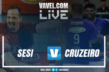Resultado jogo 1: Sesi-SP x Sada Cruzeiro na final da Superliga Masculina (2-3)