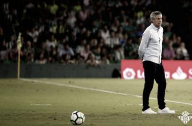 Quique Setién   Foto: Real Betis Balompié