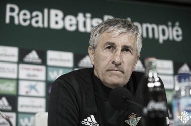 """Setién: """"Me ha extrañado que Gerard Moreno no esté en la lista de Lopetegui"""""""