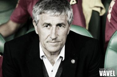 """Setién: """"La victoria es merecida porque hemos jugado mejor que el Levante"""""""