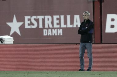 Quique Setién diz que Barcelona fez 'o que tinha preparado' em goleada diante do Mallorca