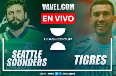 Resumen y goles: Seattle Sounders 3-0 Tigres en Cuartos de Final de la Leagues Cup 2021