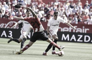 Resumen Sevilla vs Athltic Club (1-1)