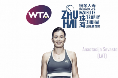 Anastasija Sevastova, the defending semifinalist, will look to replicate her success this year | Edit: Don Han
