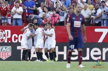 Ganso marca mais uma vez e ajuda Sevilla a vencer Eibar com tranquilidade