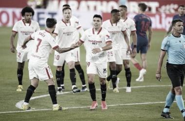 Sevilla 1 a 0 Atletico de Madrid (Foto: Divulgação / LaLiga)
